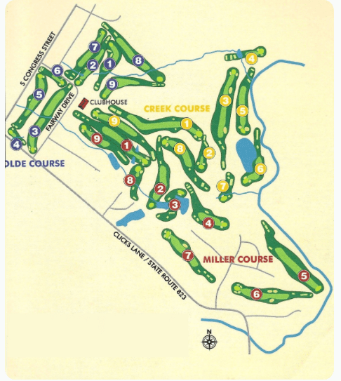 Shenvalee course maps