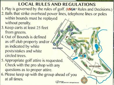 golf rules